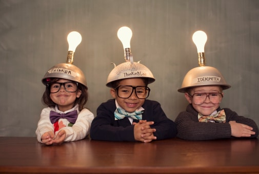 Kid Who are thinking about great ideas like solar panel installation