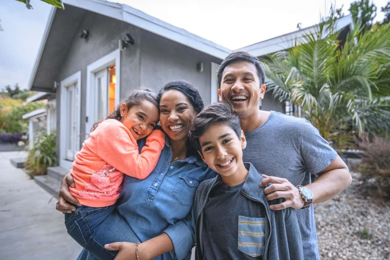Example of a family who could be happy about their San Jose solar panel installation